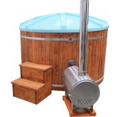 Log Burning Hot Tub from Aspects Pools