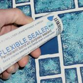 Leakmaster Flexible Pool Liner Sealer - 4oz Tube/White