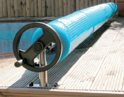Premium Fixed Swimming Pool Reel Roller (12ft to 18ft Telescopic)