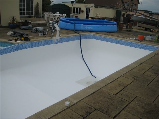 Insurance Claim Aspects Are Called In For A Leak Detection And Replace A Swimming Pool Liner