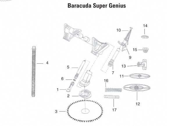Baracuda Super Genius automatic pool cleaner
